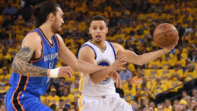 NBA : Thunder Take 3-1 Lead to Golden State