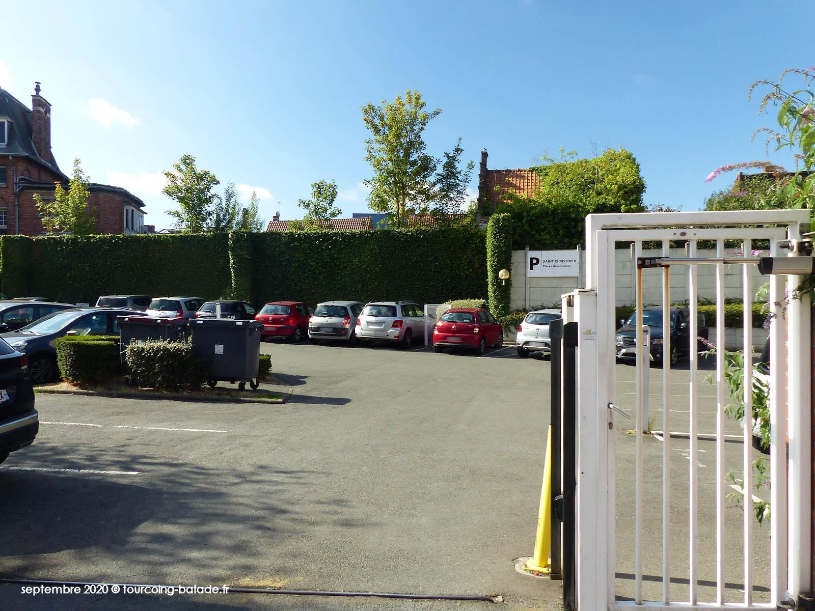 parking du Géomètre Expret Jacques Lefebvre, Tourcoing 2020