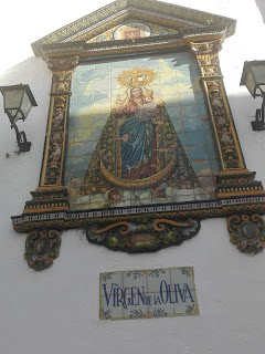Foto de la Virgen de oliva de Vejer de la frontera