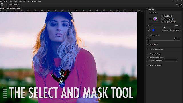Photoshop CC 2017_ Select and Mask