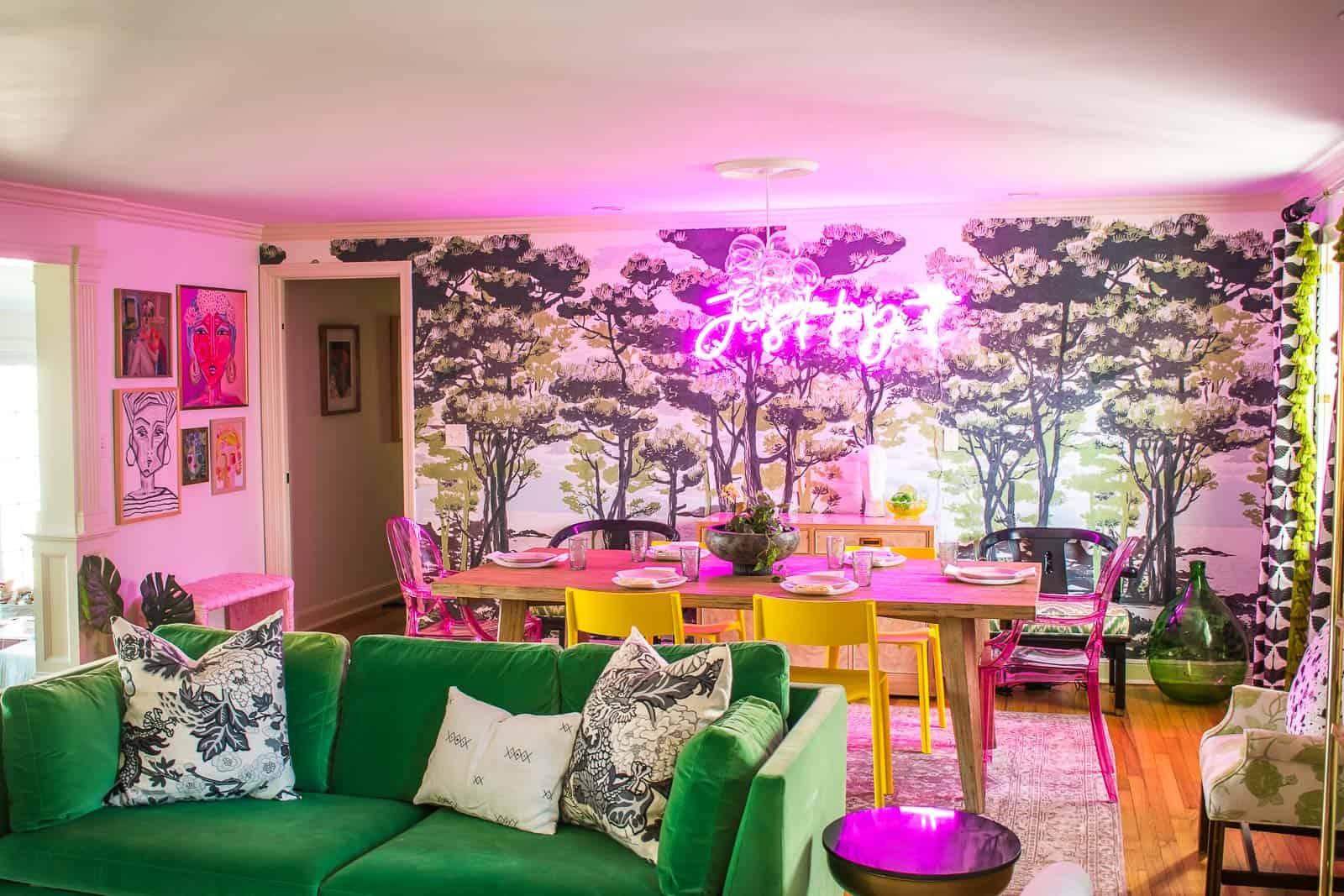 como decorar un salón comedor