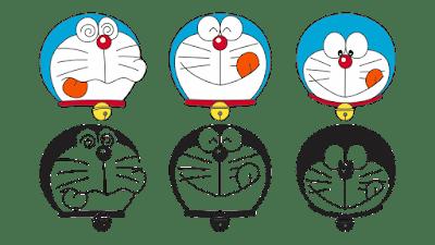 Kepala Doraemon Vector Agus91