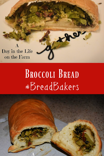 Broccoli Bread pin