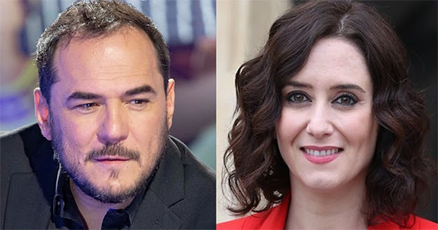Ismael Serrano e Isabel Díaz Ayuso