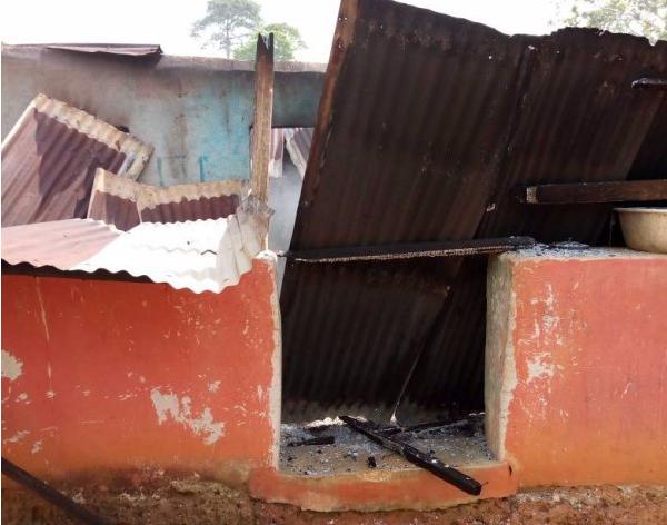 Farmer, 30, sets pregnant wife ablaze