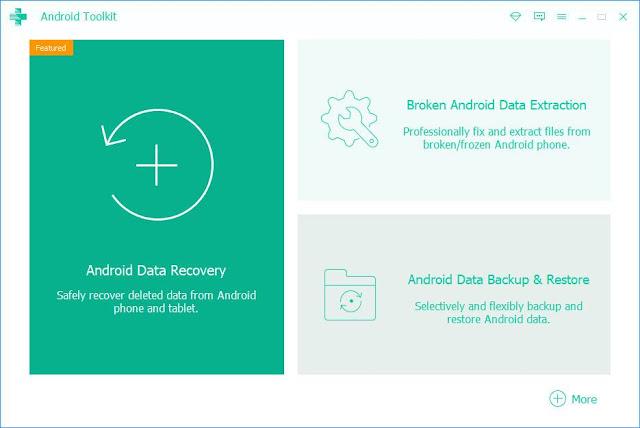Screenshot Apeaksoft Android Toolkit 2.0.26 Full Version