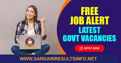 Free Job Alert 2021 Latest freejobalert Govt Vacancies
