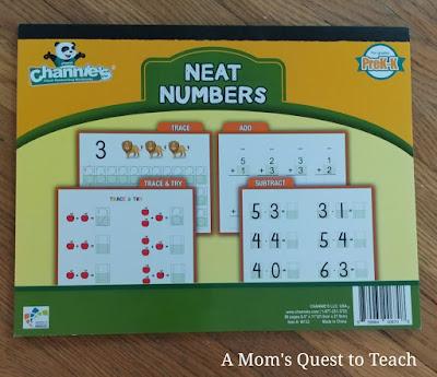 Neat Numbers workbook