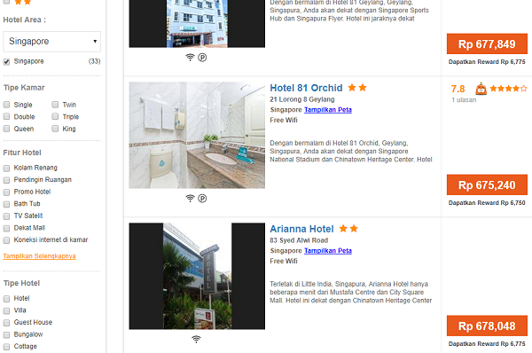 booking hotel singapore murah di pegipegi