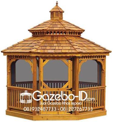 Gazebo Jati Western Minimalis