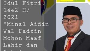 Ketua STKIP Bima, Dr. Nasution, M.Pd, Mengucapkan Selamat Hari Raya Idul Fitri, 1442 H/2021 M