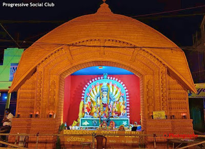 Progressive-Social-Club-Kharagpur-Durga-Puja-Pandal-2020