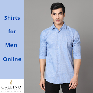 Shirts for Men Online India, Cotton Branded Shirts for Men