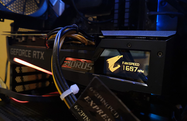 AORUS GeForce RTX 3070 MASTER 8G Test