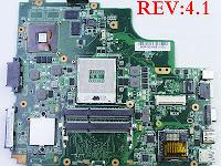 Memperbaiki Laptop  Asus A43S atau K43SV rev 4.1 Dengan Kasus Kerusakan Internal Dan Eksternal Tidak Tampil (no display) Tetapi Keyboard (numlock dan capslock) Respon