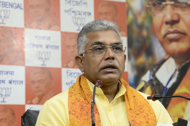 Dilip Ghosh's convoy attacked