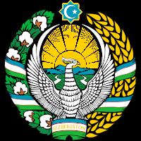 Logo Gambar Lambang Simbol Negara Uzbekistan PNG JPG ukuran 200 px