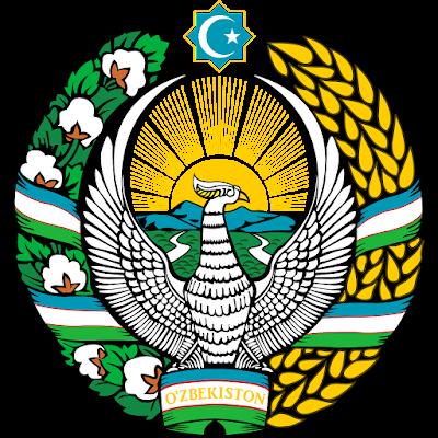 Coat of arms - Flags - Emblem - Logo Gambar Lambang, Simbol, Bendera Negara Uzbekistan