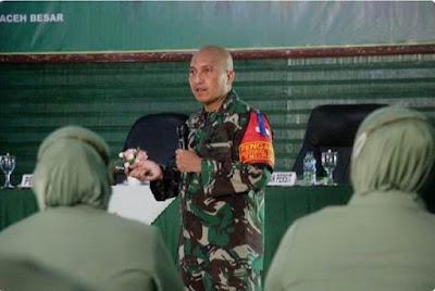 Dandim 0101/Aceh Besar Beri Motivasi Persit jajaran Cabang XXVII PD Iskandar Muda