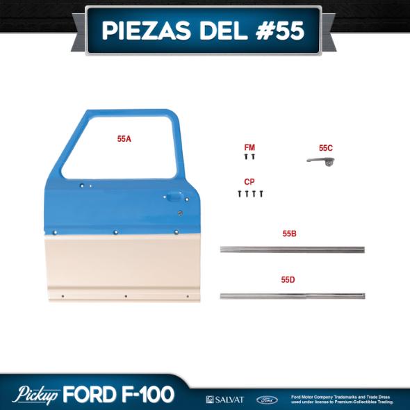 Entrega 55 Ford F-100