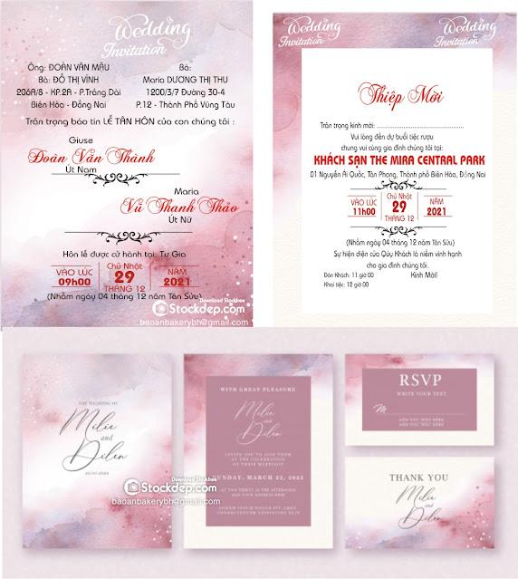 wedding invitation free vector CDR, eps