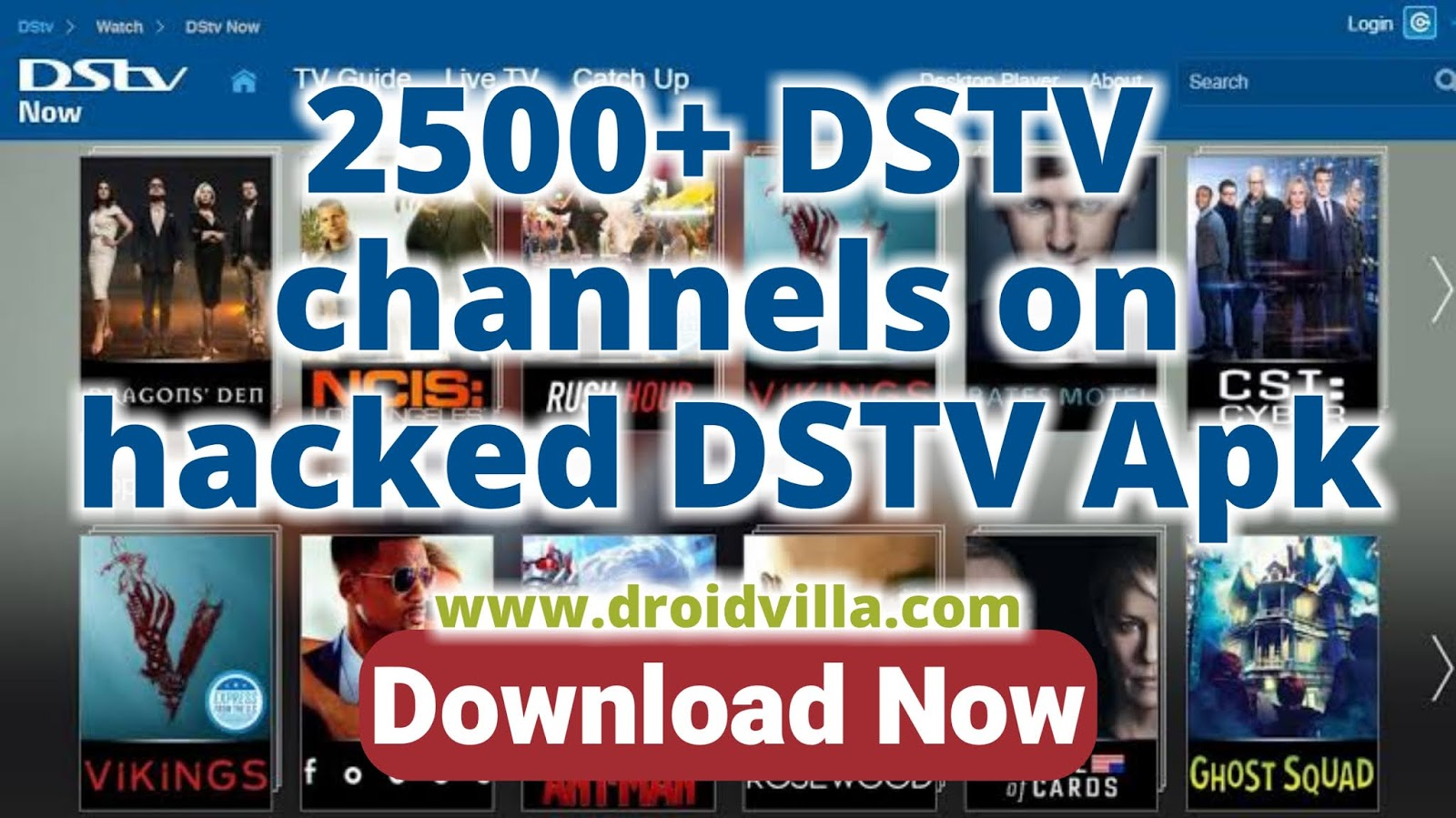 Hacked dstv apk download