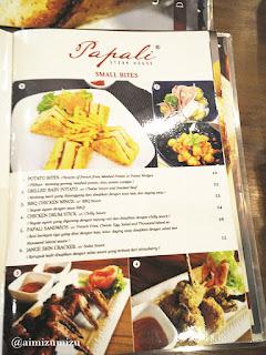 Papali steak house Padang harga 1
