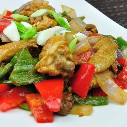Chicken and Pepper Stir-Fry