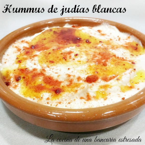 Receta de hummus de judías blancas paso a paso