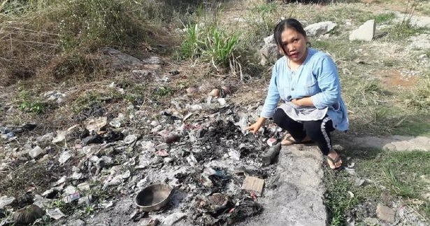 Misteri Bayi Terbakar di Tumpukan Sampah dan Cerita Kesaksian Warga