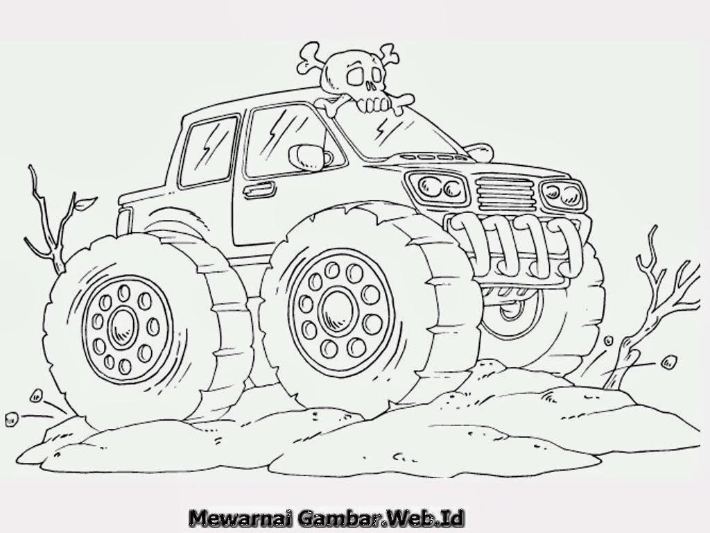 10 Gambar Mobil Monster Penting