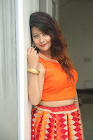 Shubhangi Bant in Orange Lehenga Choli Stunning Beauty ~  Exclusive Celebrities Galleries 020.JPG