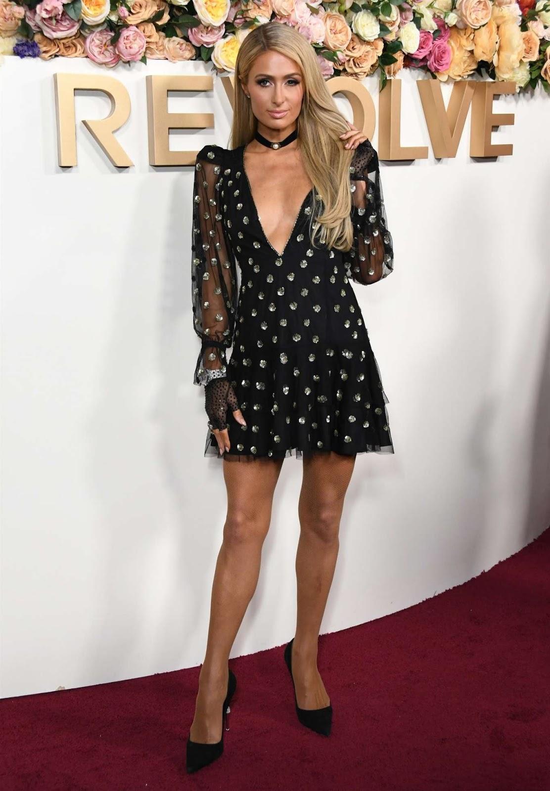 Paris Hilton – 2019 REVOLVE awards in West Hollywood