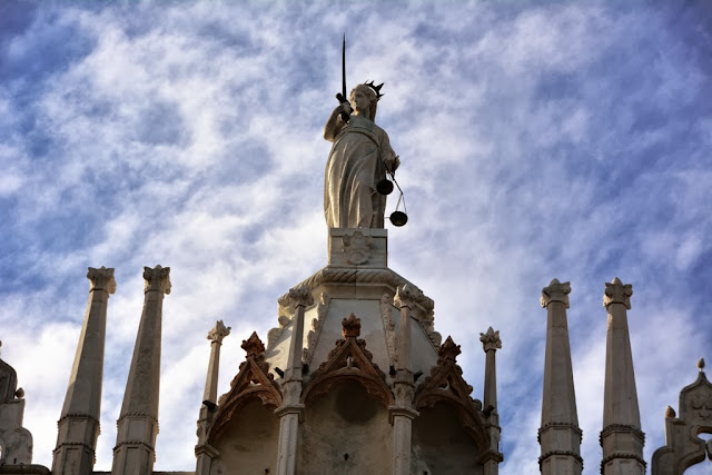 Palazzo Ducale Venice Lady Justice