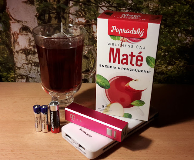 Popradský Wellness čaj Maté - Energia a povzbudenie