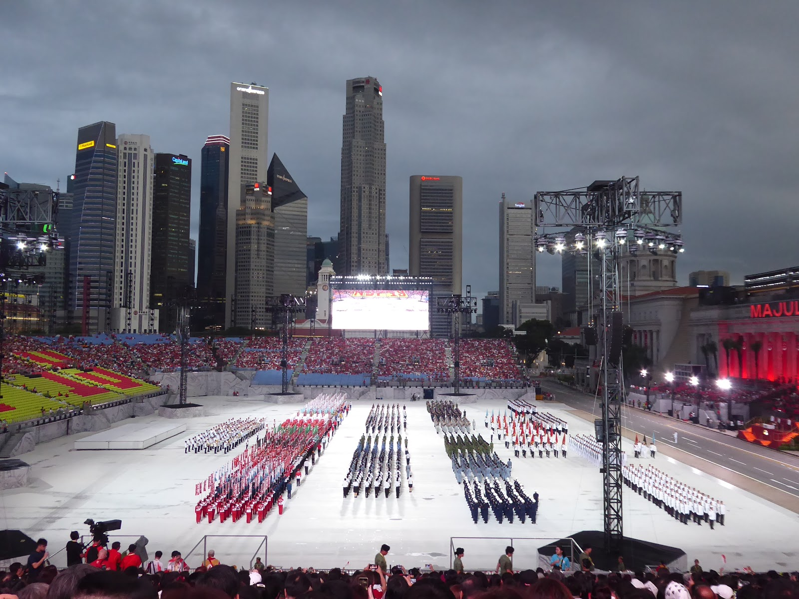 Singapore National Day Parade Rehearsal on 29th June 2019