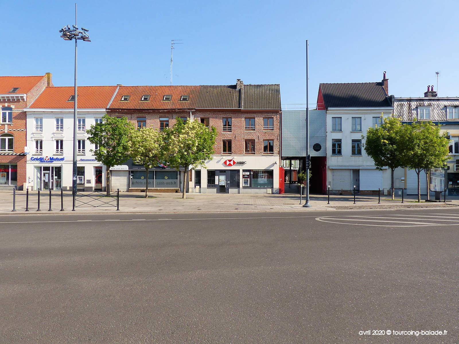 Place Roussel, Tourcoing 2020 - Banque HSBC