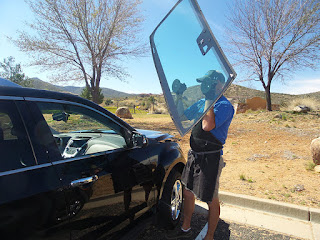 Able Auto Glass can replace your sandblasted windshield in Prescott