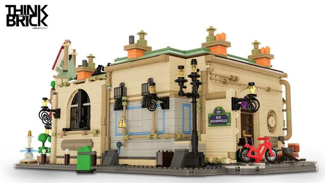 Ratatouille Kitchen LEGO Gusteau's