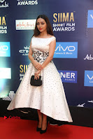 Actress Pooja Salvi Stills in White Dress at SIIMA Short Film Awards 2017 .COM 0003.JPG