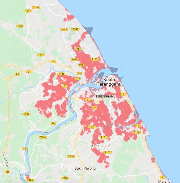 Malaysia Akan 'Hilang' Daripada Peta Dunia Menjelang 2050