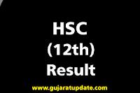 GSEB HSC (Std. 12) General Stream Result 2020