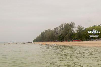 Ko Naka Yai in Thailand. Weltreise