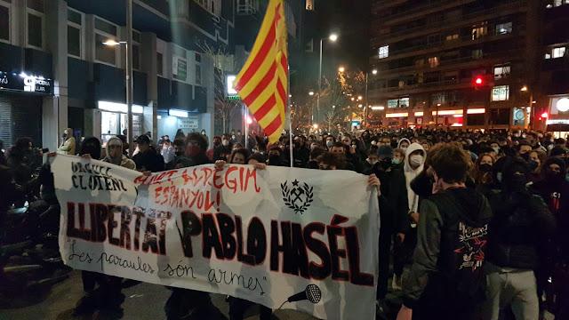 La revolución del futuro, Capturando a Pablo Hasél II - Las revueltas.