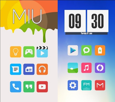 Miu - MIUI 8 Style Icon Pack Apk Full Android