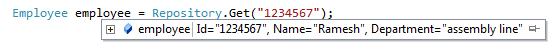 debugger display attribute