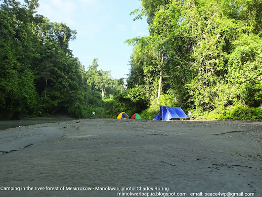 Hiking and Camping in Mesirrokow Forest of Manokwari