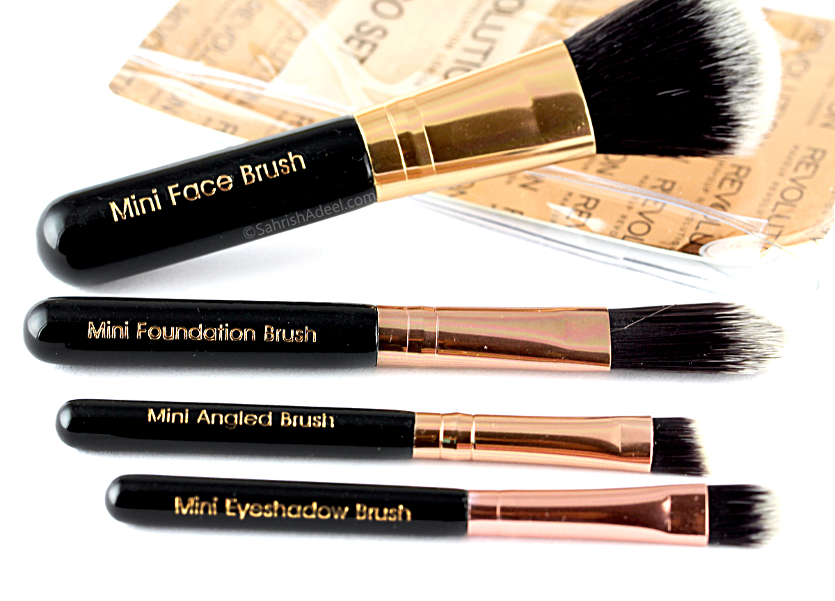 Pro Go Mini Brush Set by Makeup Revolution - Review