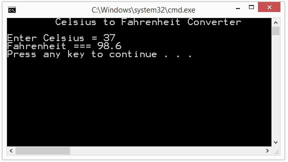 How to write program that 'Convert Fahrenheit to Kelvin' ?