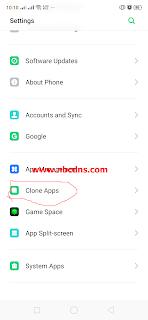 Cara Clone Aplikasi WhatsApp Di Hp Android Realme 3 Pro